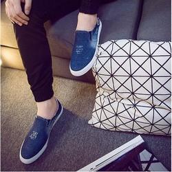 M053 - Giày lười vải Jeans cá tính Posashop