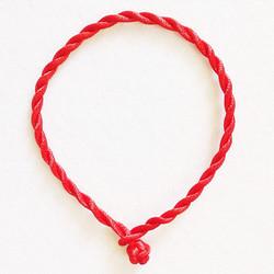 1 cặp dây tim đỏ vòng tay mèo may mắn