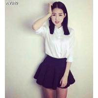 Áo váy nữ công sở Mã: AV840