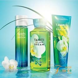 Bộ sưu tập dưỡng da Tahiti Island Dream của Bath and Body Works