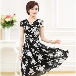 Đầm Hoa Nhẹ Nhàng Cho Quý Cô