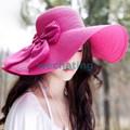 nón mũ rộng vành gấp gọn thời trang mới hàng nhập khẩu