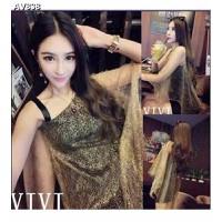 Váy đầm 2 dây giả 2 áo cánh dơi Mã: AV838