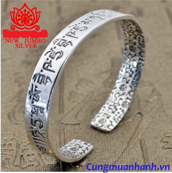 Vòng Tay Khắc Thần Chú Và Hoa Văn Tây Tạng - VT206 2