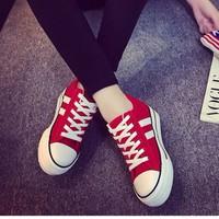 Giày bánh mì nữ cột dây A7224S