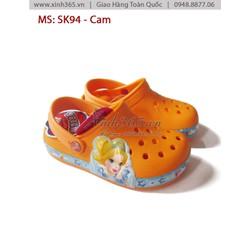 Giày nhựa SK94 trẻ em - Cam