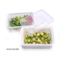 Combo 2 hộp đựng thực phẩm