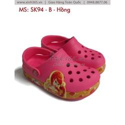 Giày nhựa SK94 trẻ em - Màu Hồng