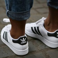 giày bata unisex #superstar