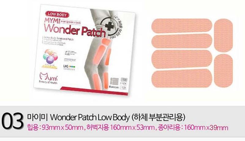 Miếng Dán Thon Đùi Mymi Low Body Wonder Patch Hàn Quốc 3