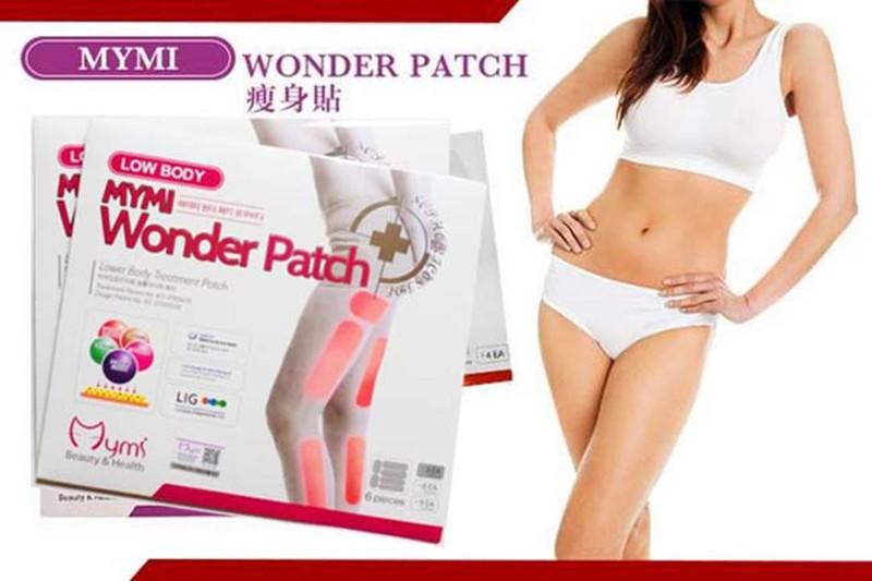 Miếng Dán Thon Đùi Mymi Low Body Wonder Patch Hàn Quốc 5