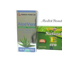 Combo Aloe Vera - Sữa Ong Chúa + Vitamin E thiên nhiên