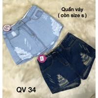 Quần short jean nữ - QS34