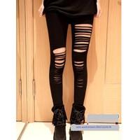quần legging rách