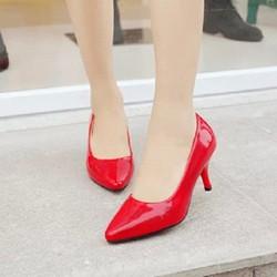 Giày cao gót mũi nhọn mẫu Hàn Quốc