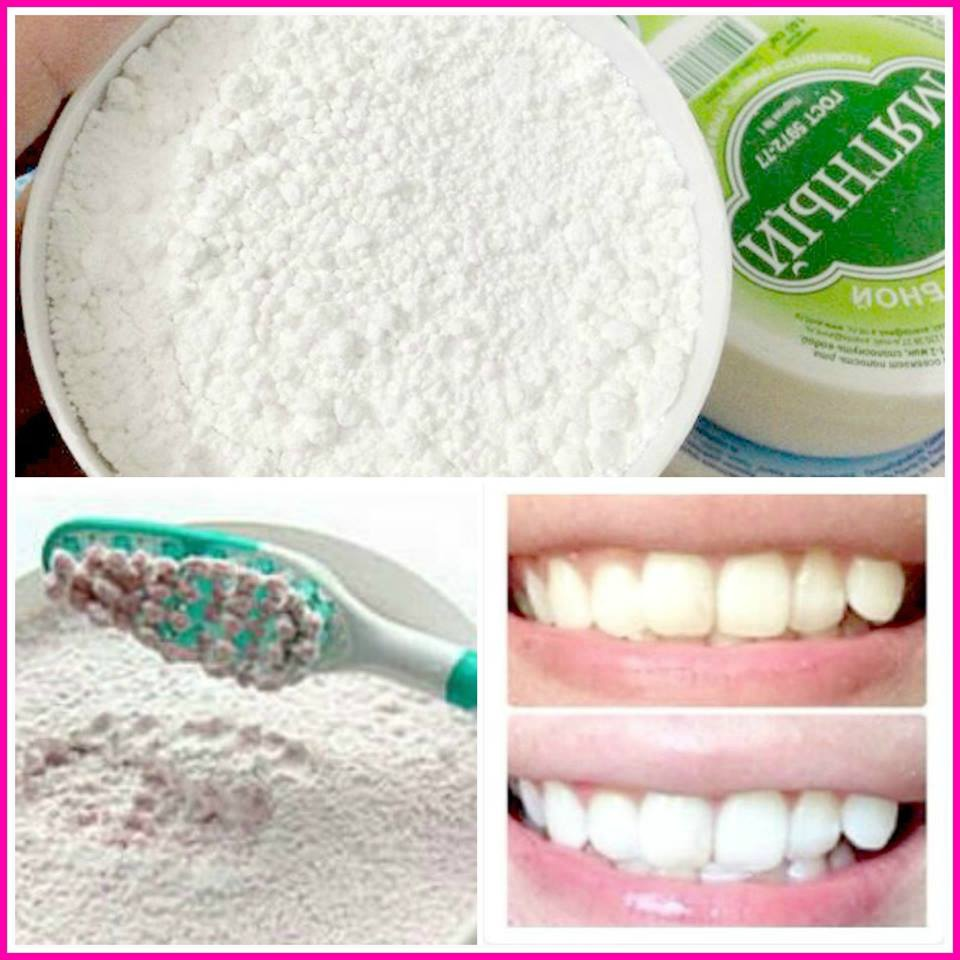 Bột tẩy trắng răng 2