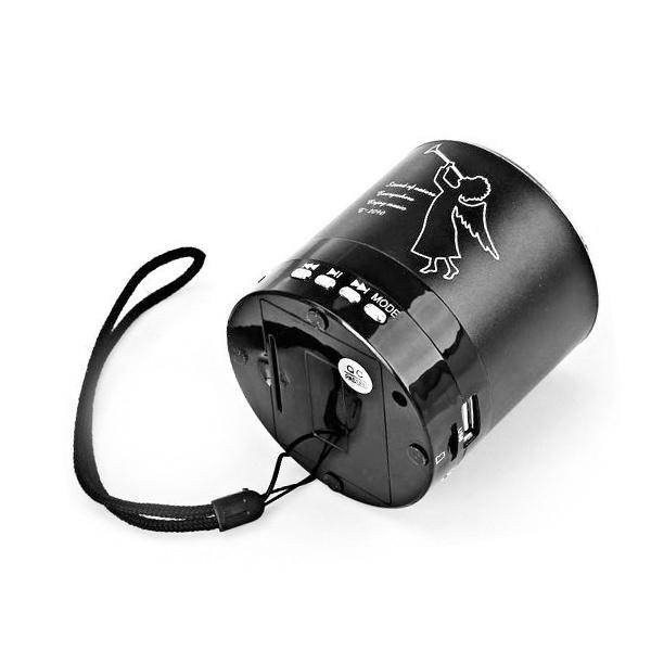 LOA CẮM THẺ NHỚ, USB T-2090 CÓ MÀN HÌNH PIN RỜI 8