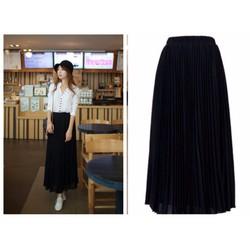 Shop Cún-Hàng Cao Cấp-Chân Váy Voan Helen Dập Ly Quyến Rũ -New