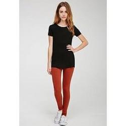 Quần legging nữ màu nâu hãng Forever 21 - hàng nhập Mỹ