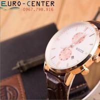 Đồng hồ nam dây da cao cấp WT01BL