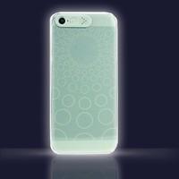 Ốp lưng phát sáng VanD Flashing iPhone 5,S - TRẮNG XANH