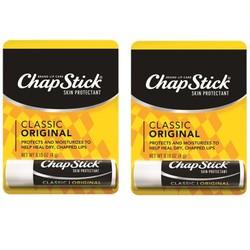 2 son dưỡng cao cấp ChapStick Classic Original 4g xách tay Mỹ