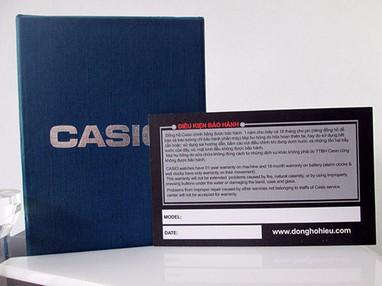 Đồng hồ nữ Casio chính hãng chạy cả 6 kim V300G 17