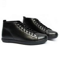 Giày da cao cổ, đế tăng chiều cao 5cm
