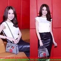 Chân váy fashion : Chân váy bút chì da như Ngọc Trinh from đẹp CV95