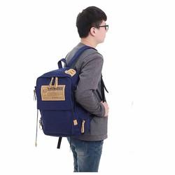 Balo vải bố nam BaloHome, Balo Laptop, Balo đi học, Balo Nam – 039
