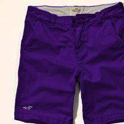 Quần short kaki nam màu tím form body ôm giá rẻ nhất