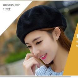 nón mũ len bere thời trang  thu đông mới