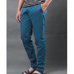 Quần kaki nam ống côn màu xanh vải đẹp cho nam giá cực rẻ