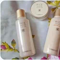 Bộ dưỡng ẩm chiết xuất từ Gạo Non - Rice Ceramide