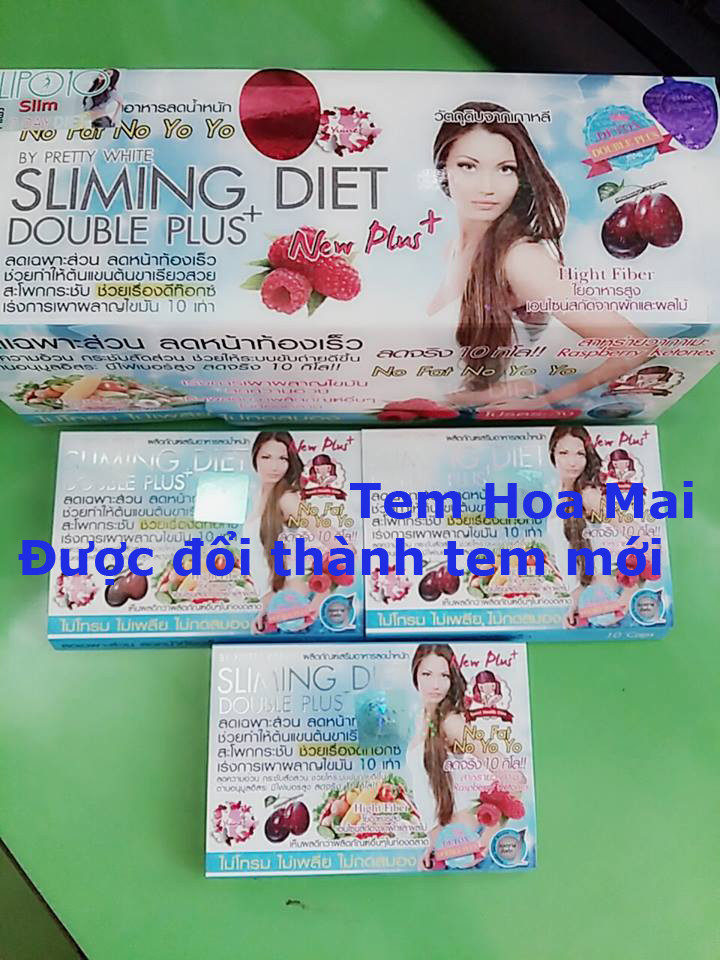 Viên giảm cân Sliming Diet Double Plus Thailand 7
