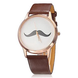 Đồng hồ nam nữ unisex dây dA cá tính thời trang [Mantis Shop]