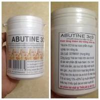 Bột kích trắng Abutin 3C3 tinh chất trắng da