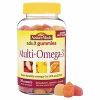 Kẹo Dẻo Hình Thú Gummies Multi Omega 3 - Nature Made
