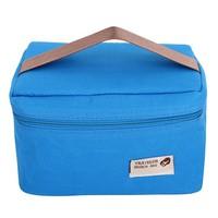 Túi giữ nhiệt đựng cơm travelus kiểu Hàn Quốc - xanh dương