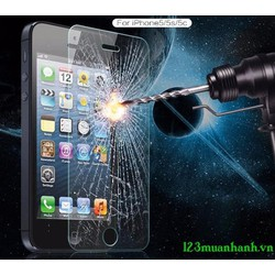 Miếng dán cường lực iphone 5, 5S , 5C