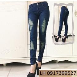 Quần Jean Nữ thời trang mới L121656