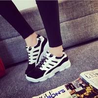 Giày thể thao nữ sneaker phong cách Hàn Quốc TT002D-  F3979.com