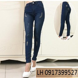 Quần Jean Nữ thời trang mới L121655