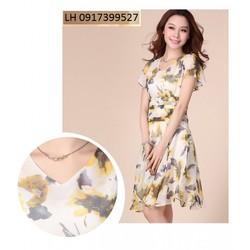 Đầm váy xòe thời trang Hàn QUốc Hàng Nhập L121691