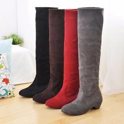 Giày boot lửng xanh đen 30cm