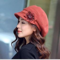 nón mũ len dạ thời trang thu đông