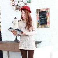 Quần legging đạp gót phong cách Hàn Quốc