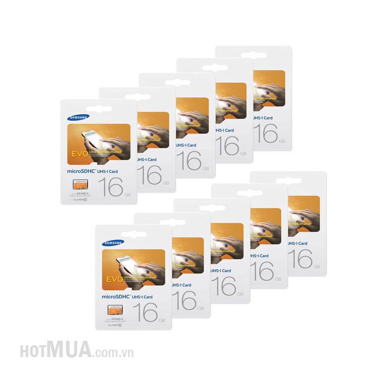 Thẻ Nhớ Micro SD Samsung Evo 16G class 10 Fullbox - Bảo Hành 5 năm. 4