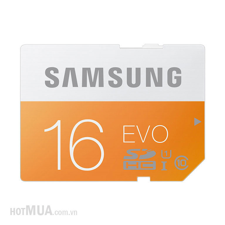 Thẻ Nhớ Micro SD Samsung Evo 16G class 10 Fullbox - Bảo Hành 5 năm. 3