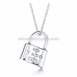 Mặt dây chuyền ổ khóa MDC124